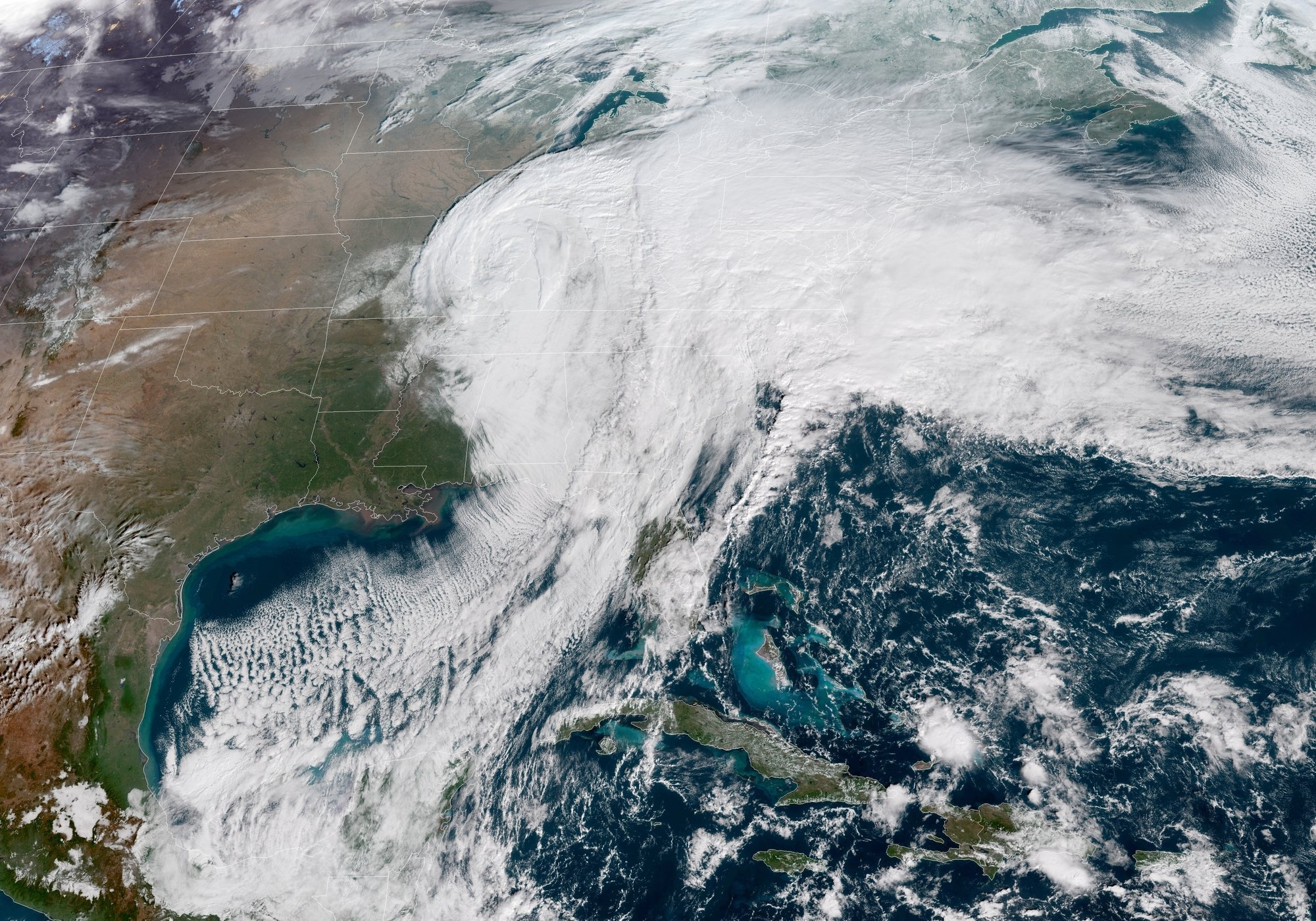 United States Winter Storm 2018 | Source: Wikimedia Commons