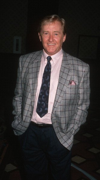 Alan Young on July 28, 1988 at the Registry Hotel in Los Angeles, California. | Photo: Getty Images
