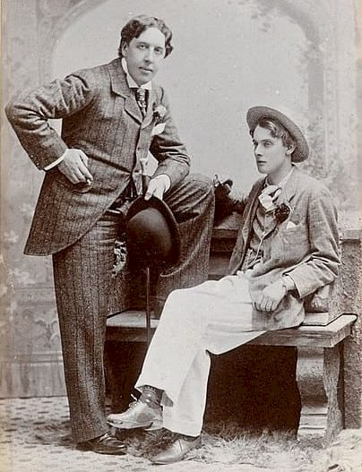 Oscar Wilde andhis lover, Lord Alfred Douglasin 1893 | Public Domain