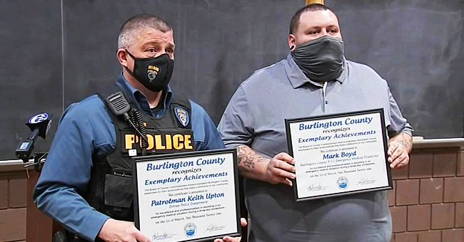 911 Dispatcher and Police Officer Honored after Helping to Birth a Baby during Snowstorm