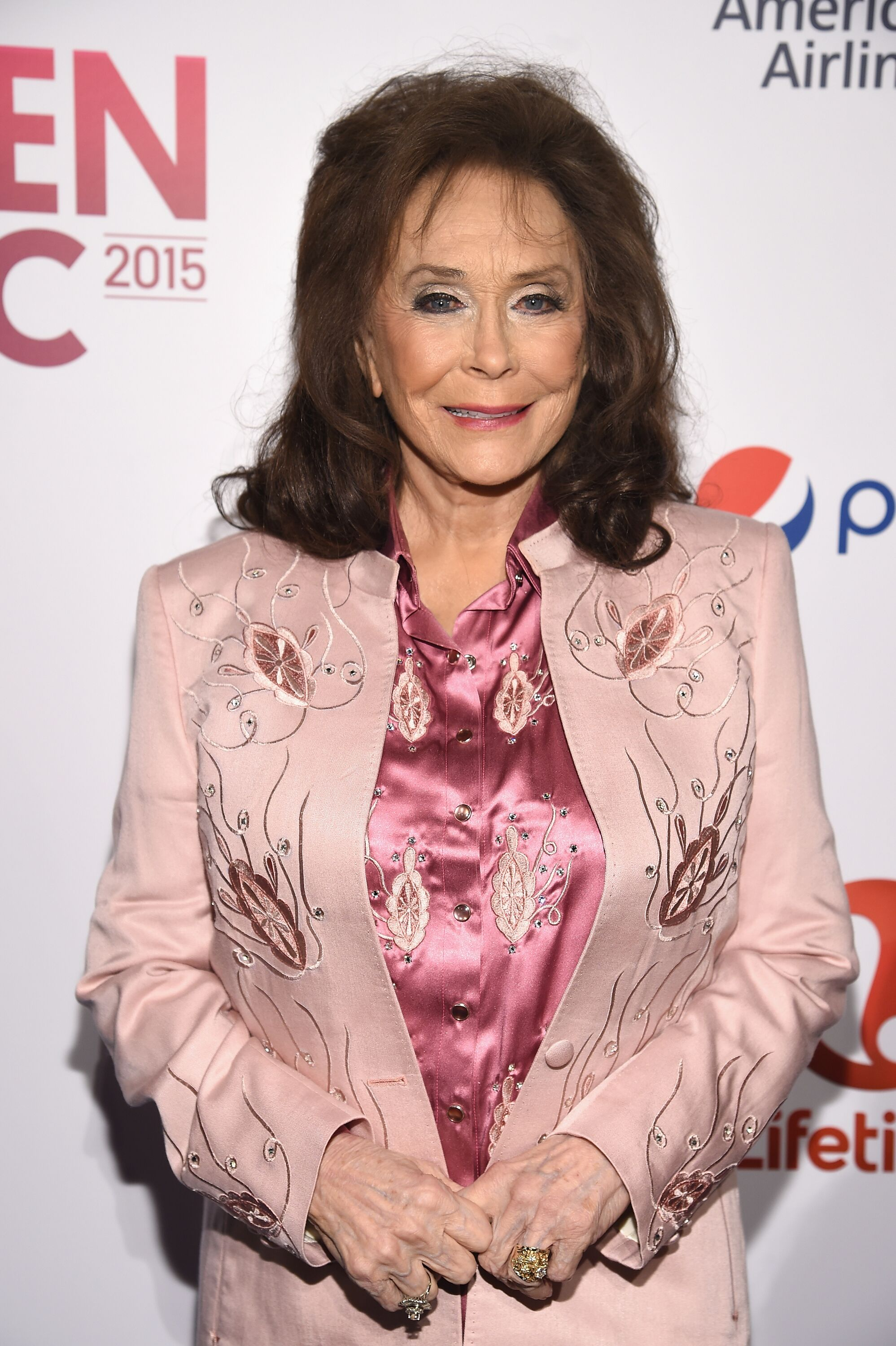 Loretta Lynn attends Billboard Women In Music 2015 on Lifetime at Cipriani 42nd Street on December 11, 2015 in New York City.   Source: Getty Images