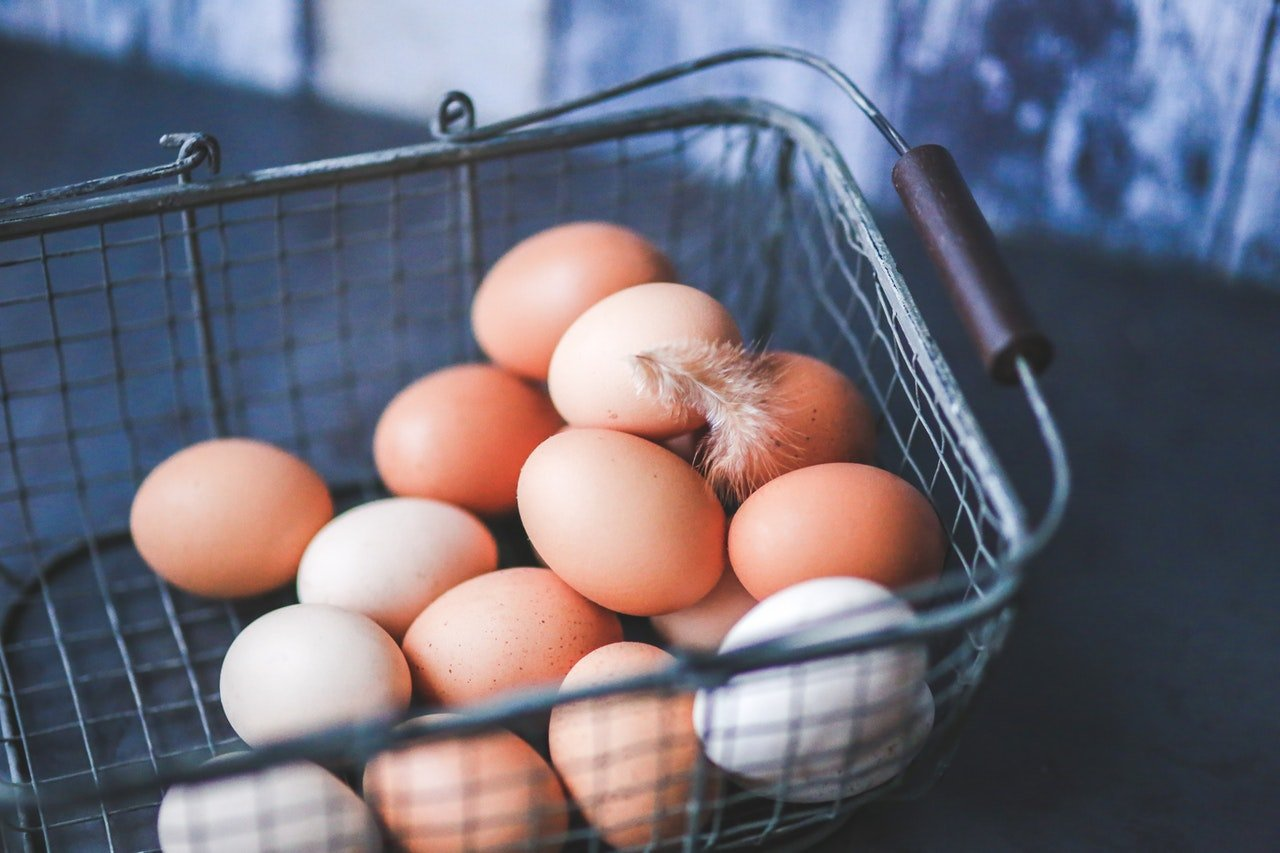 Photo of eggs in a basket | Photo: Getty Images