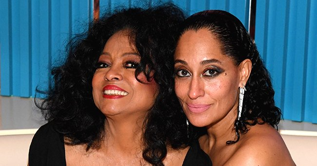 Diana Ross' Vaccinated Ex-husband & Daughter Tracee Hold Hands Amid Father-Daughter Date (Video)