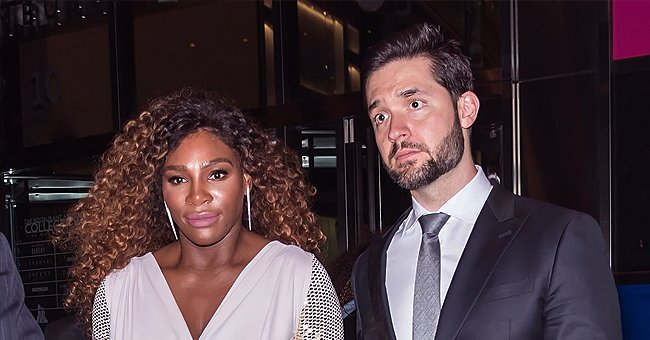 Serena Williams' Daughter Olympia Does Not Look Impressed during a Trip to an Amusement Park