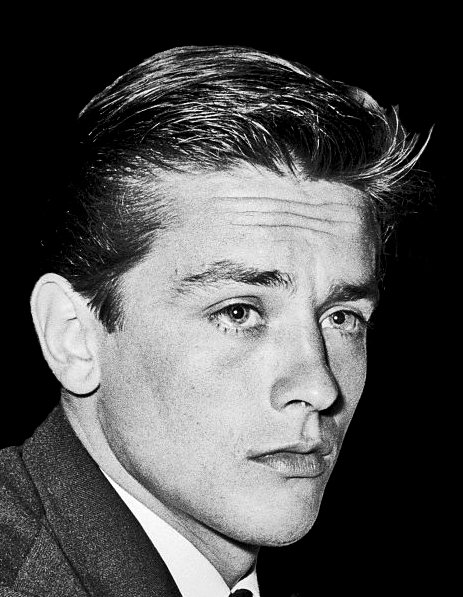 Alain Delon, Rome, 1961 | Source : Wikimedia.