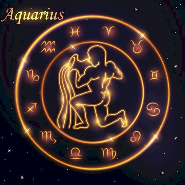 Signo de Acuario. | Imagen tomada de: Shutterstock