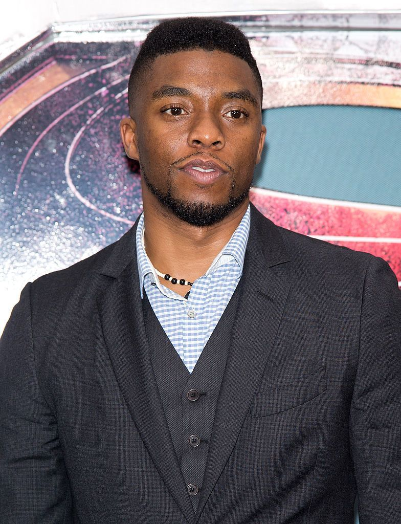 """Chadwick Boseman at""""Man Of Steel"""" world premiere on June 10, 2013, in New York City 