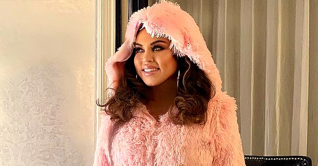 Check Out Chris Brown's Mom Joyce Hawkins as She Poses in Pink Pajamas She Designed Herself