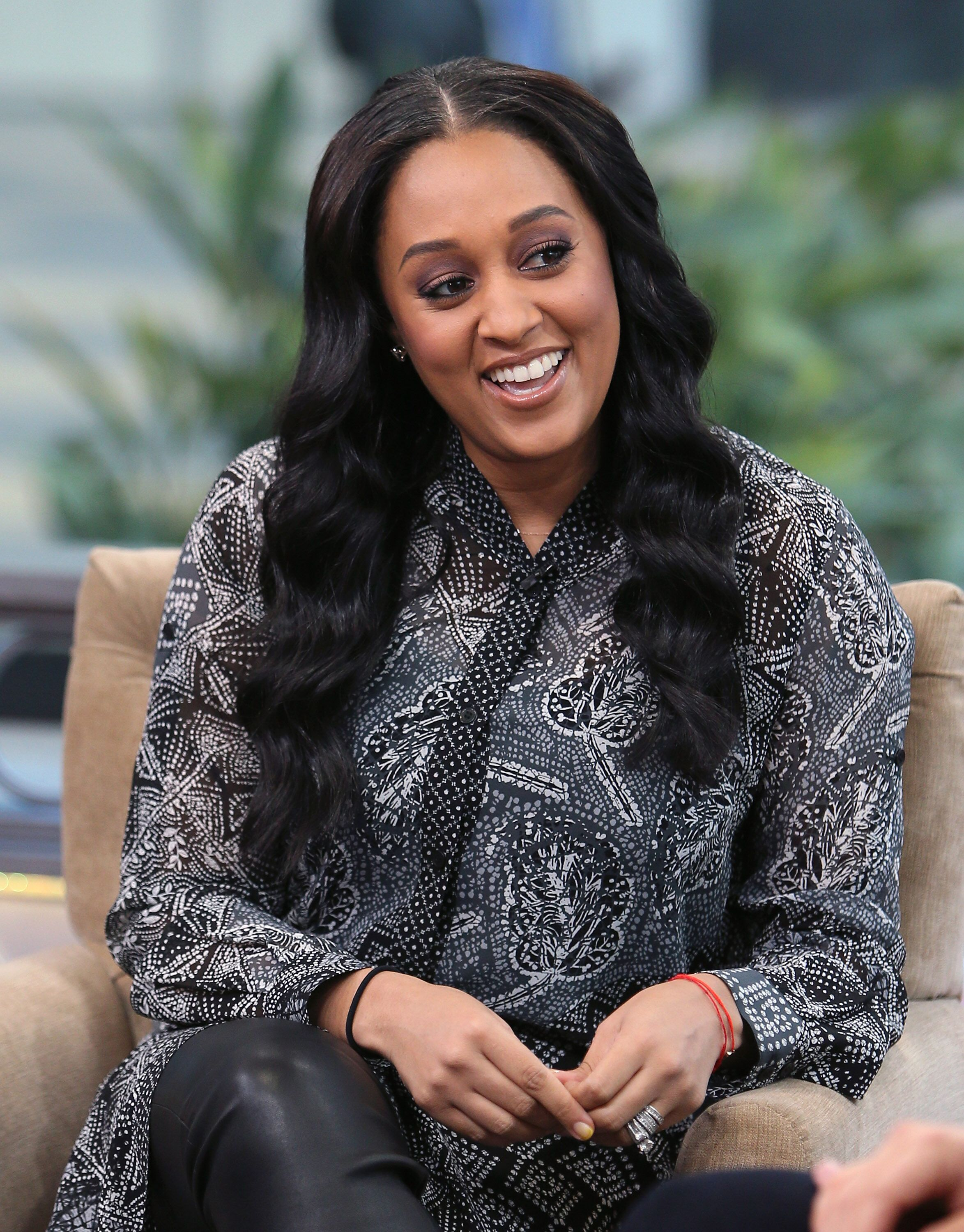 "Actress Tia Mowry-Hardrict attends ""Hollywood Today Live"" on January 3, 2017  