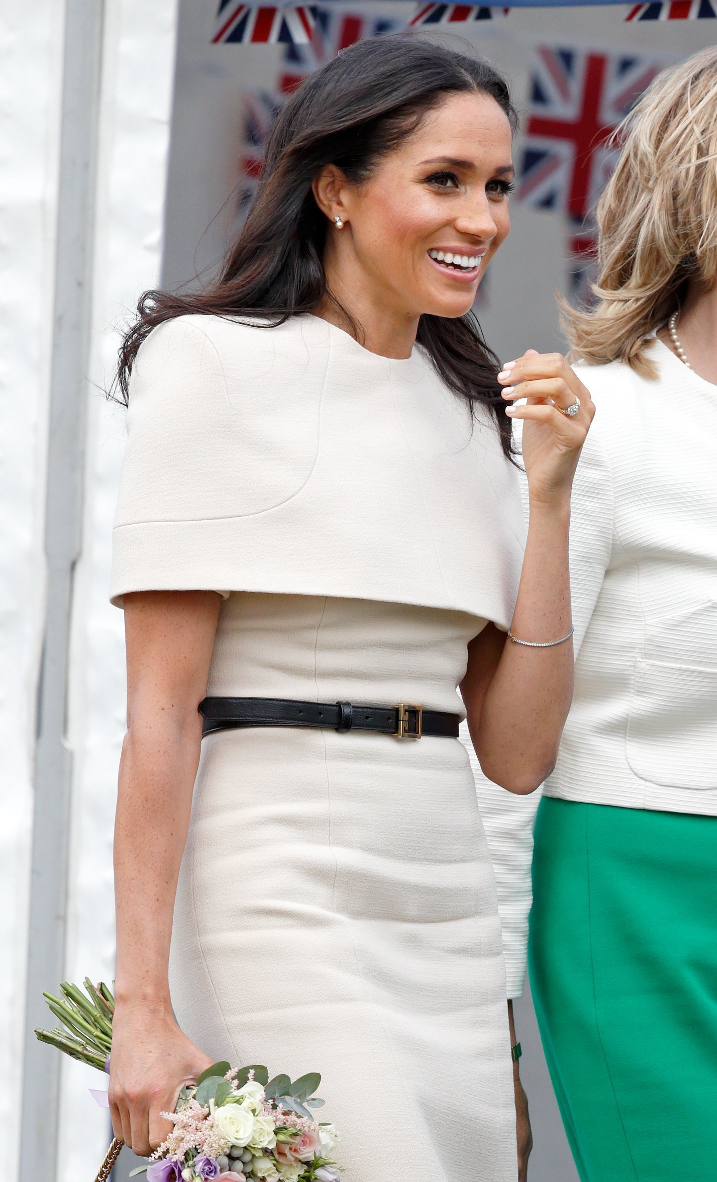 Meghan, Duchess of Sussex attends a ceremony to open the new Mersey Gateway Bridge on June 14, 2018 in Widens, England. | Source: Getty Images.