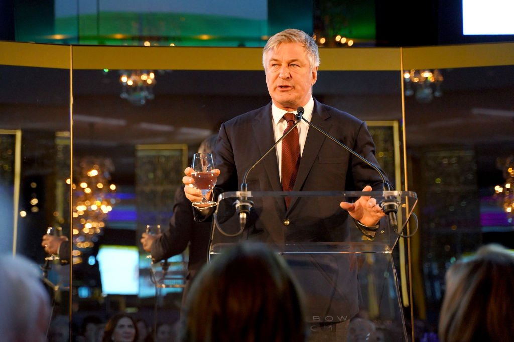 Alec Baldwin speaks onstage at the Guild Hall Academy Of The Arts Achievement Awards 2020  | Photo: Getty Images