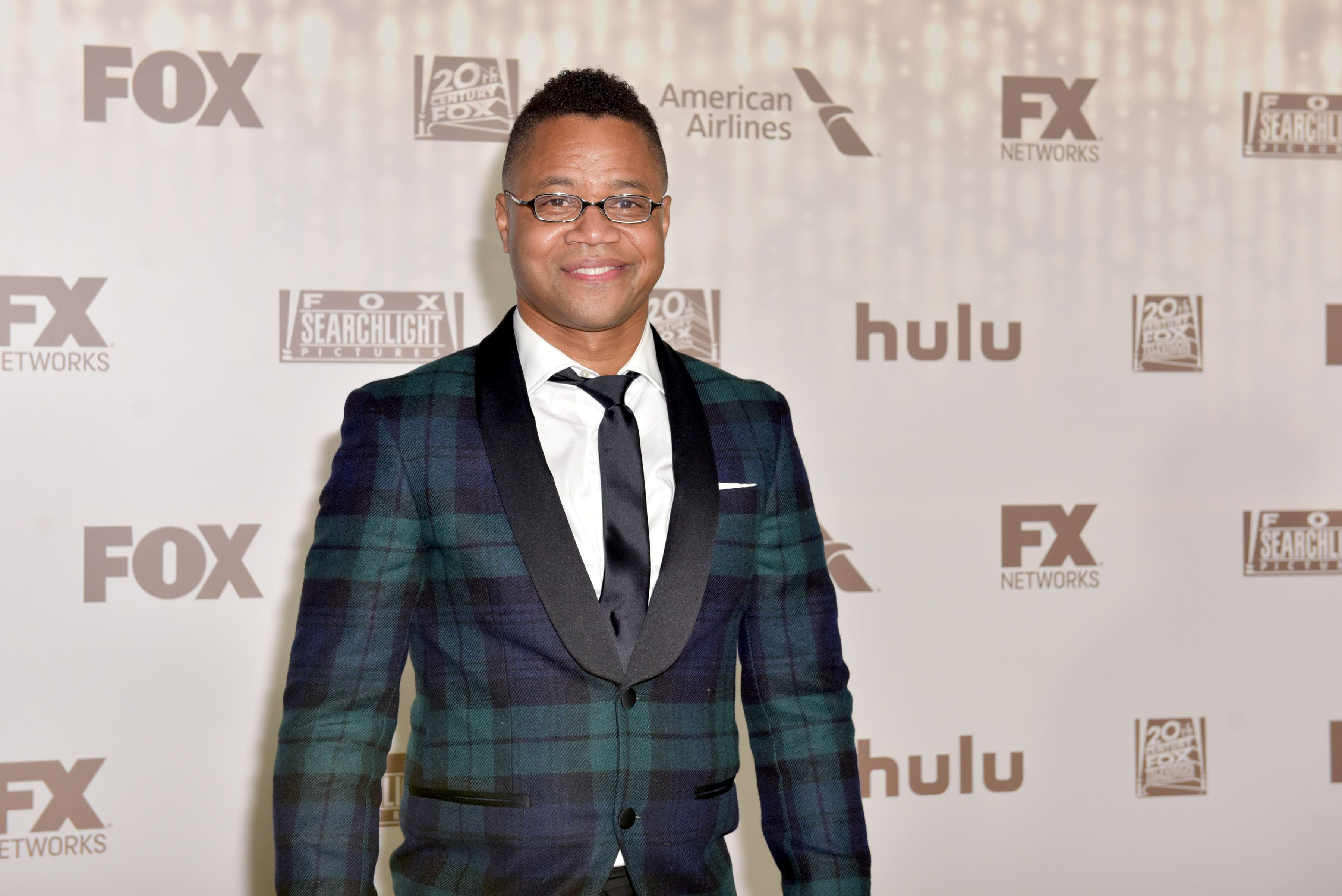 Cuba Golding Jr at Fox's Golden Globe Awards After Party/ Source: Getty Images