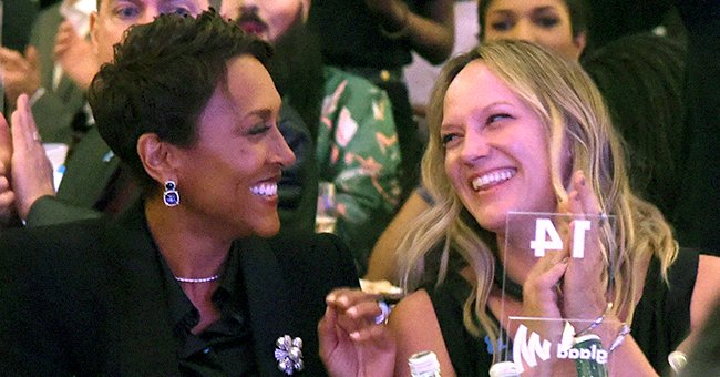 GMA's Robin Roberts & Partner Amber Celebrate 16th Anniversary with Romantic Dinner Date in Photos