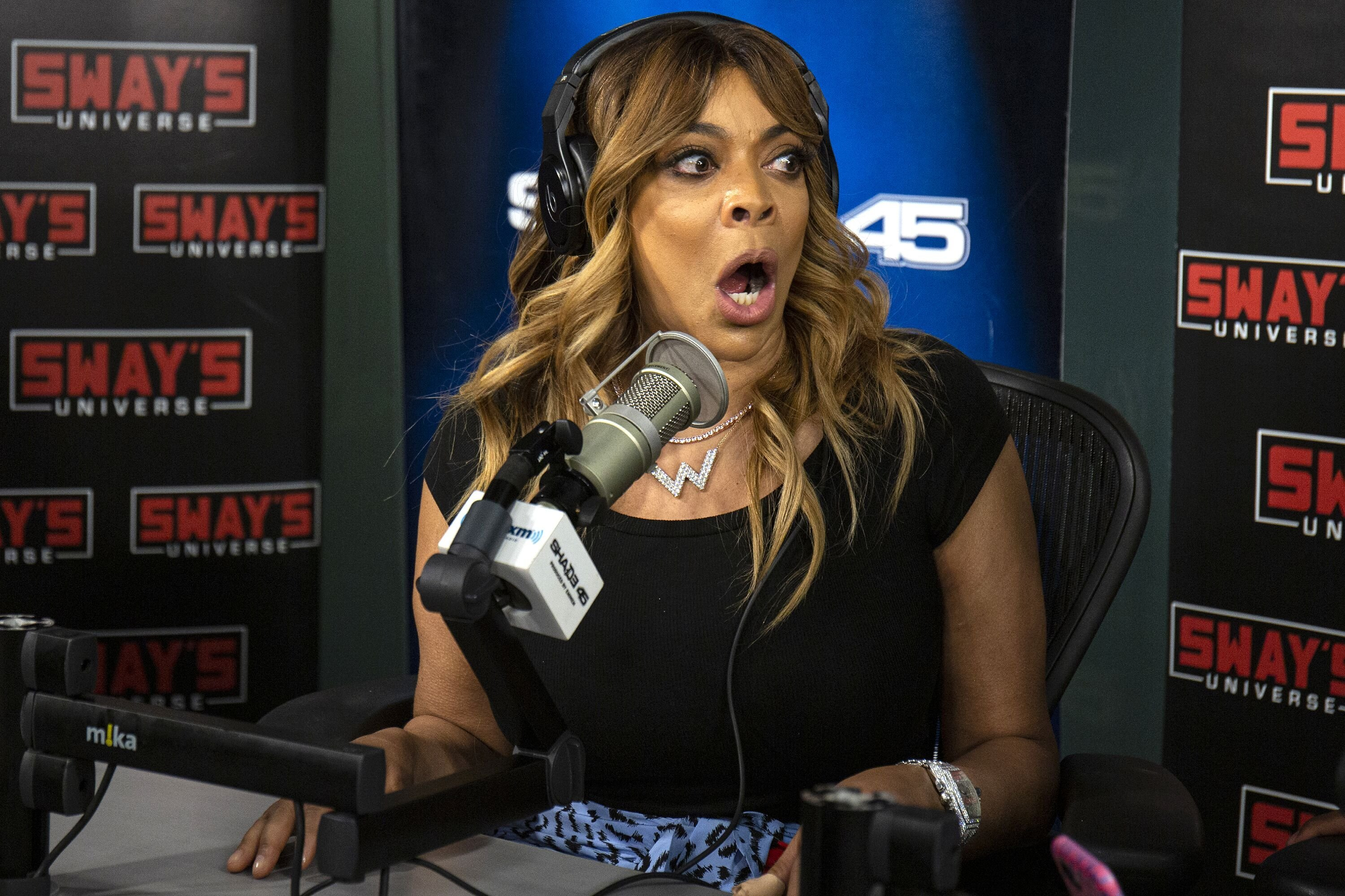 Wendy Williams at SiriusXM Studios on in August 2019 in New York City/ Source: Getty Images