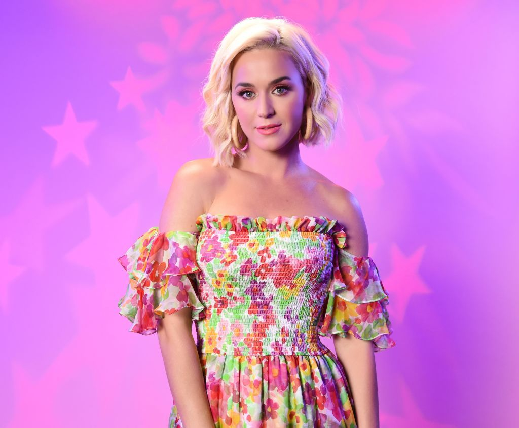 Katy Perry at the SiriusXM Studios on August 07, 2019 in Los Angeles, California   Photo: Getty Images