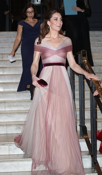 The Duchess Of Cambridge  attends the 100 Women In Finance Gala Dinner at the Victoria and Albert Museum on February 13, 2019, in London, England.| Photo: Getty Images