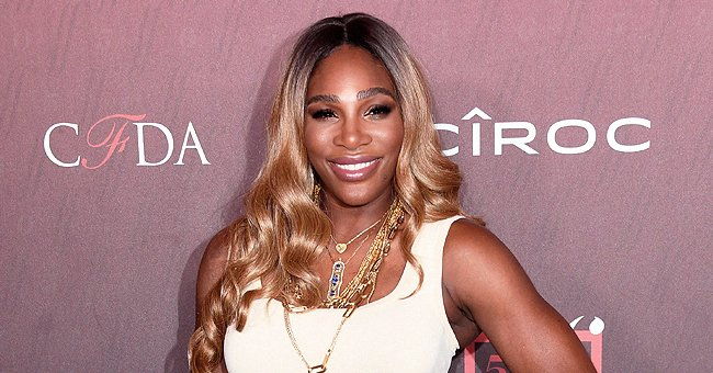 Serena Williams' Daughter Olympia Follows in Mom's Footsteps as She Takes Her 1st Tennis Lesson