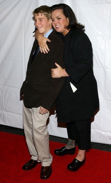 "Rosie O'Donnell and Parker O'Donnell attend ""Billy Elliot The Musical"" on Broadway at the Imperial Theatre on November 13, 2008, in New York City. 