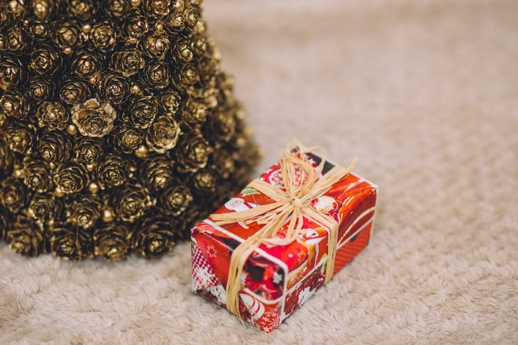 Image montrant un cadeau de Noël. | Photo : Unsplash