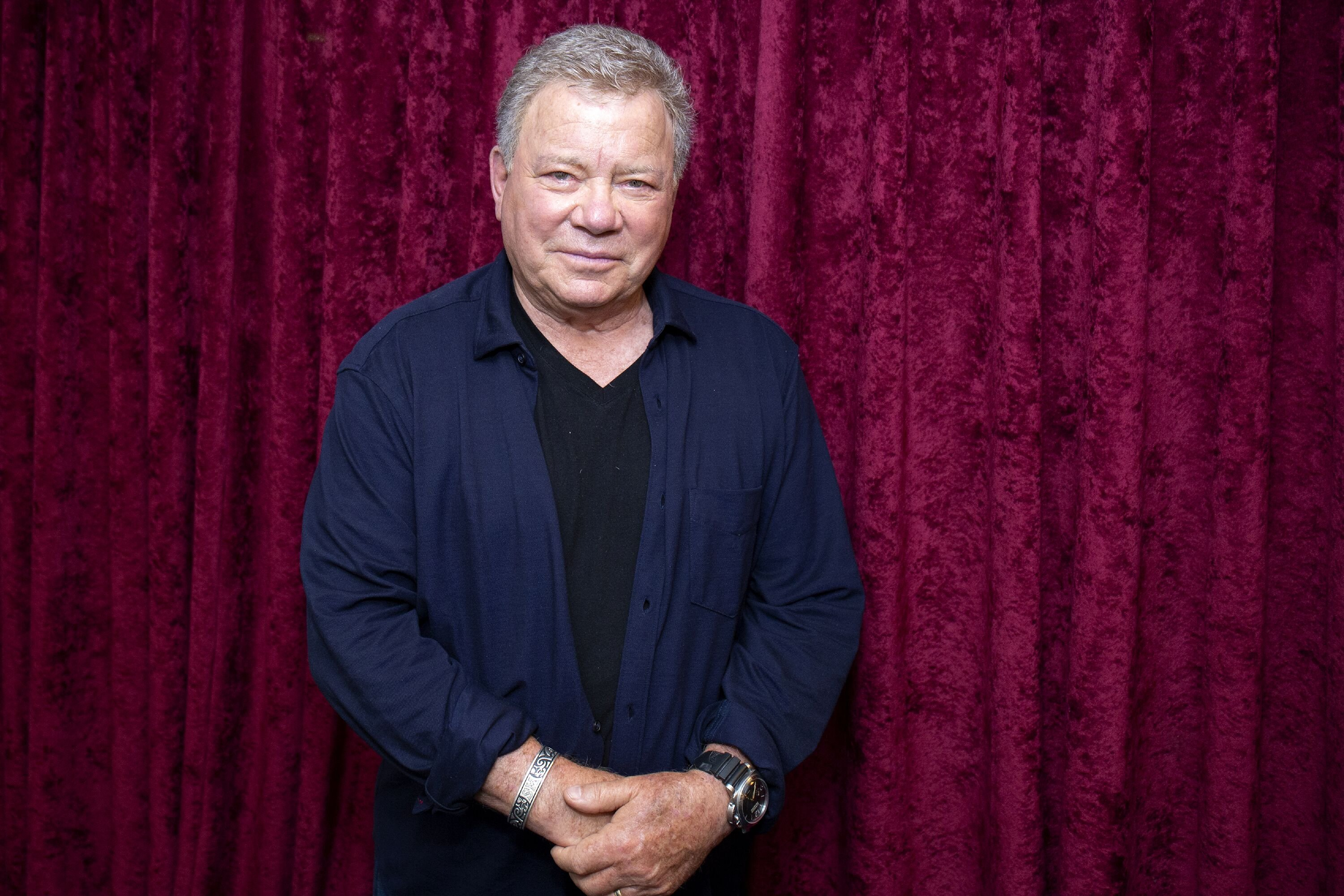 William Shatner at SiriusXM Studios, New York City on September 6, 2018. | Source: Getty Images