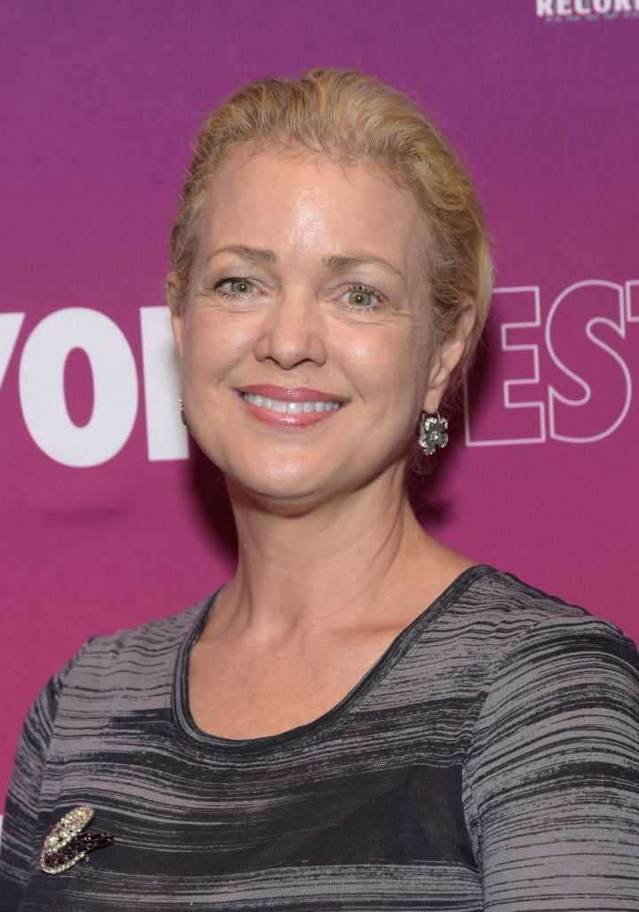 Melody Anderson le 3 octobre 2018 à Hollywood. l Source : Getty Images
