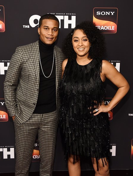 Cory Hardrict and Tia Mowry at Paloma on February 20, 2019 in Los Angeles, California. | Photo: Getty Images