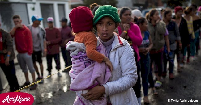 Mom from migrant caravan blames Border Patrol for her 5-month-old daughter's pneumonia