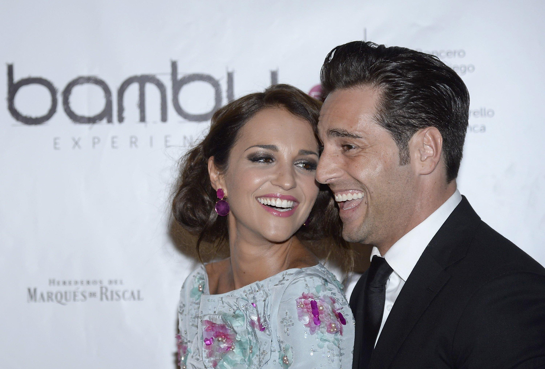 Paula Echevarría y David Bustamante asisten a la fiesta de aniversario de Bambú Producciones en Shoko, 4 de julio de 2013, en Madrid, España || Fuente: Getty Images
