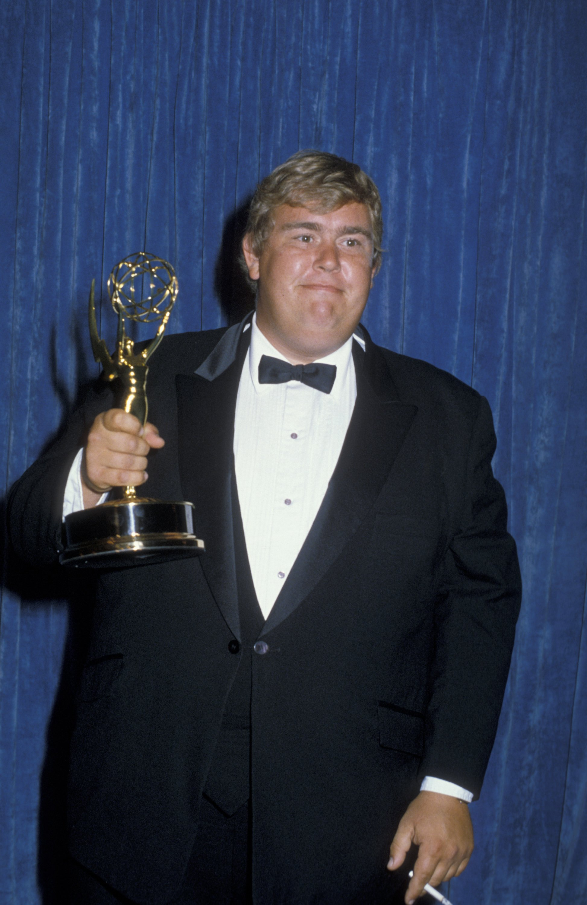John Candy attends 35th Annual Primetime Emmy Awards on September 25, 1983 at the Pasadena Civic Auditorium in Pasadena, California | Photo: Getty Images