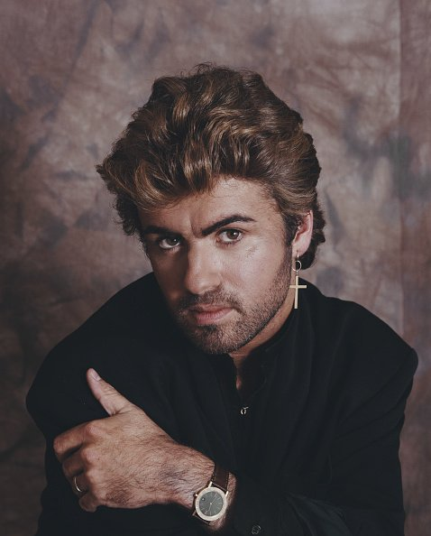 George Michael posed in London on April 2, 1987.   Photo: Getty Images