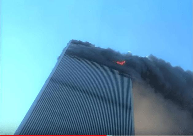 L'effondrement des tours du World Trade Center | Source : YouTube Mark LaGanga WTC 9/11 Video
