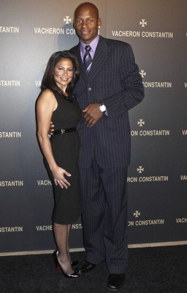 Ray Allen of the Boston Celtics with wife Shannon Williams attend the launch of Quai De L'ile in Support of Afghanistan World Foundation at The IAC Building in New York City, NY on October 22, 2008. I Image: Getty Images.