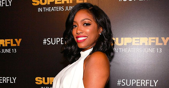 Porsha Williams Straps Daughter Pilar's Stroller to Her Bike and Rides Outdoors in a Video
