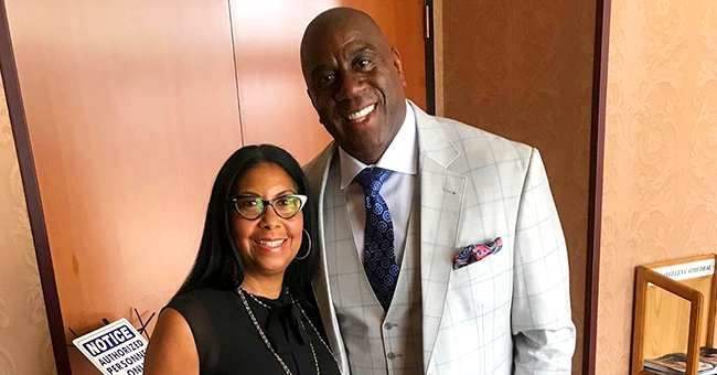 Magic Johnson's Wife Cookie Posts Pic with Granddaughter Gigi in White Dress on Her 11th Birthday