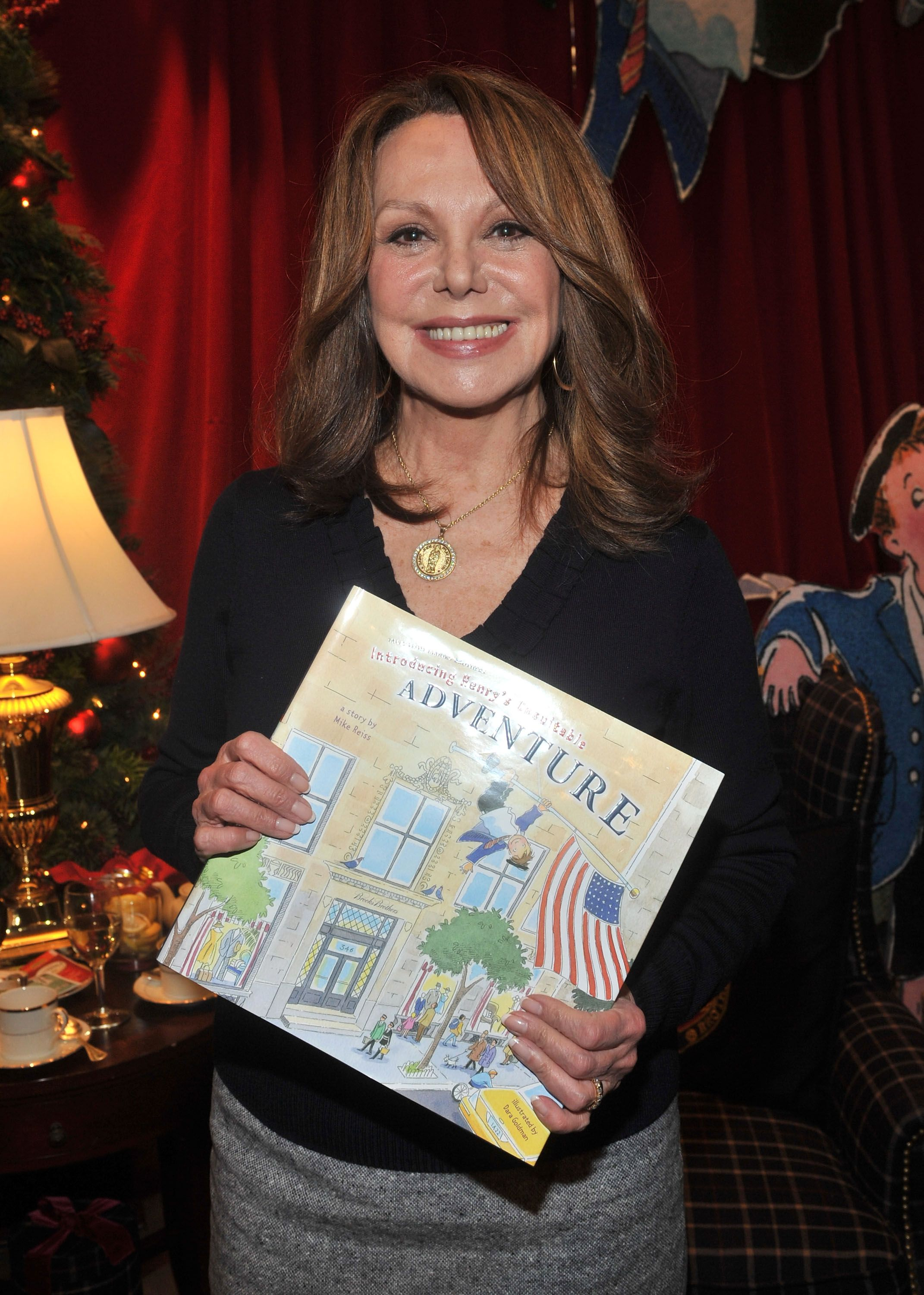 Actress Marlo Thomas attends the Brooks Brothers & St. Jude Children's Research Hospital Holiday Celebration | Getty Images