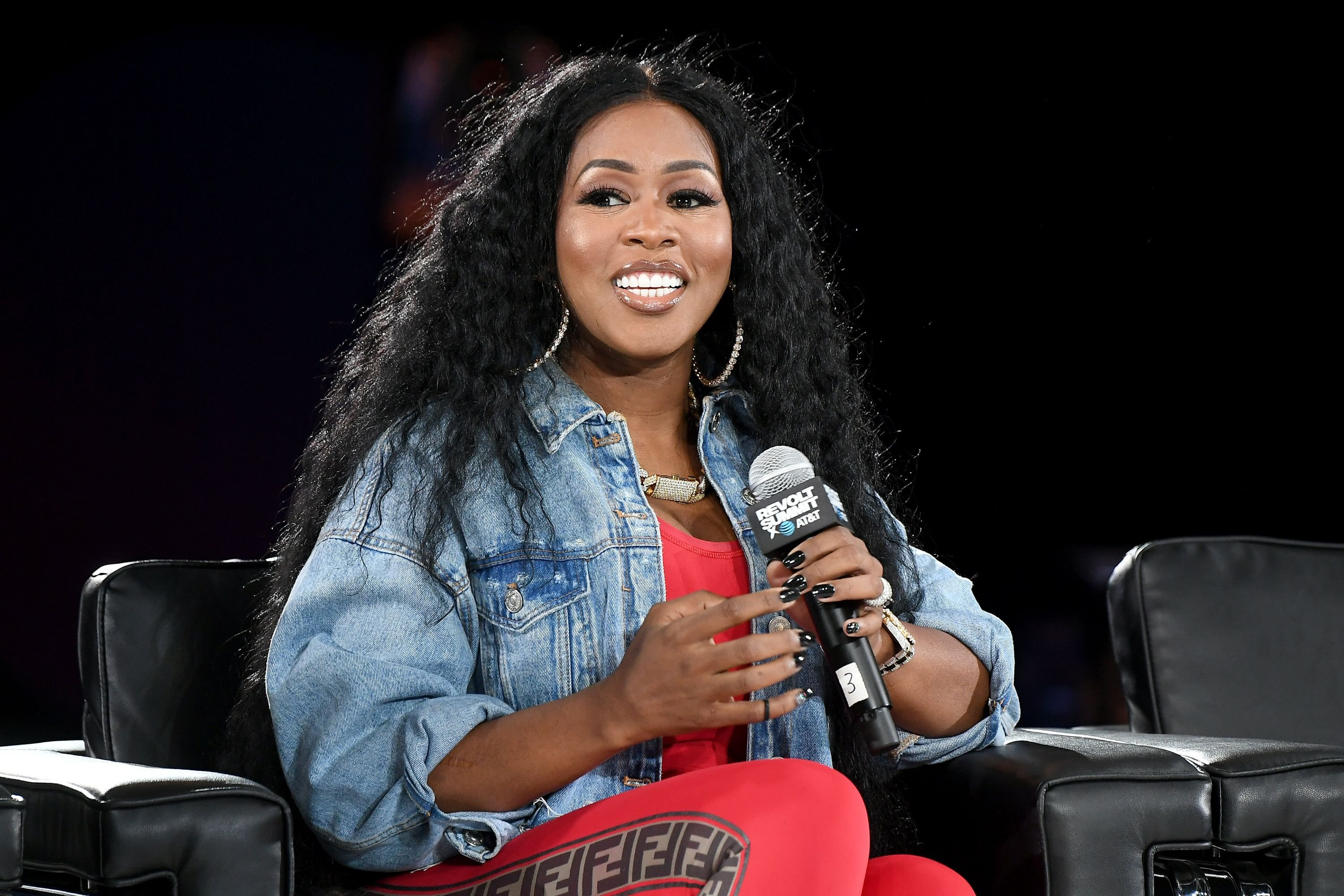 Remy Ma speaks onstage at day 2 of REVOLT Summit x AT&T Summit on September 13, 2019 | Photo: Getty Images