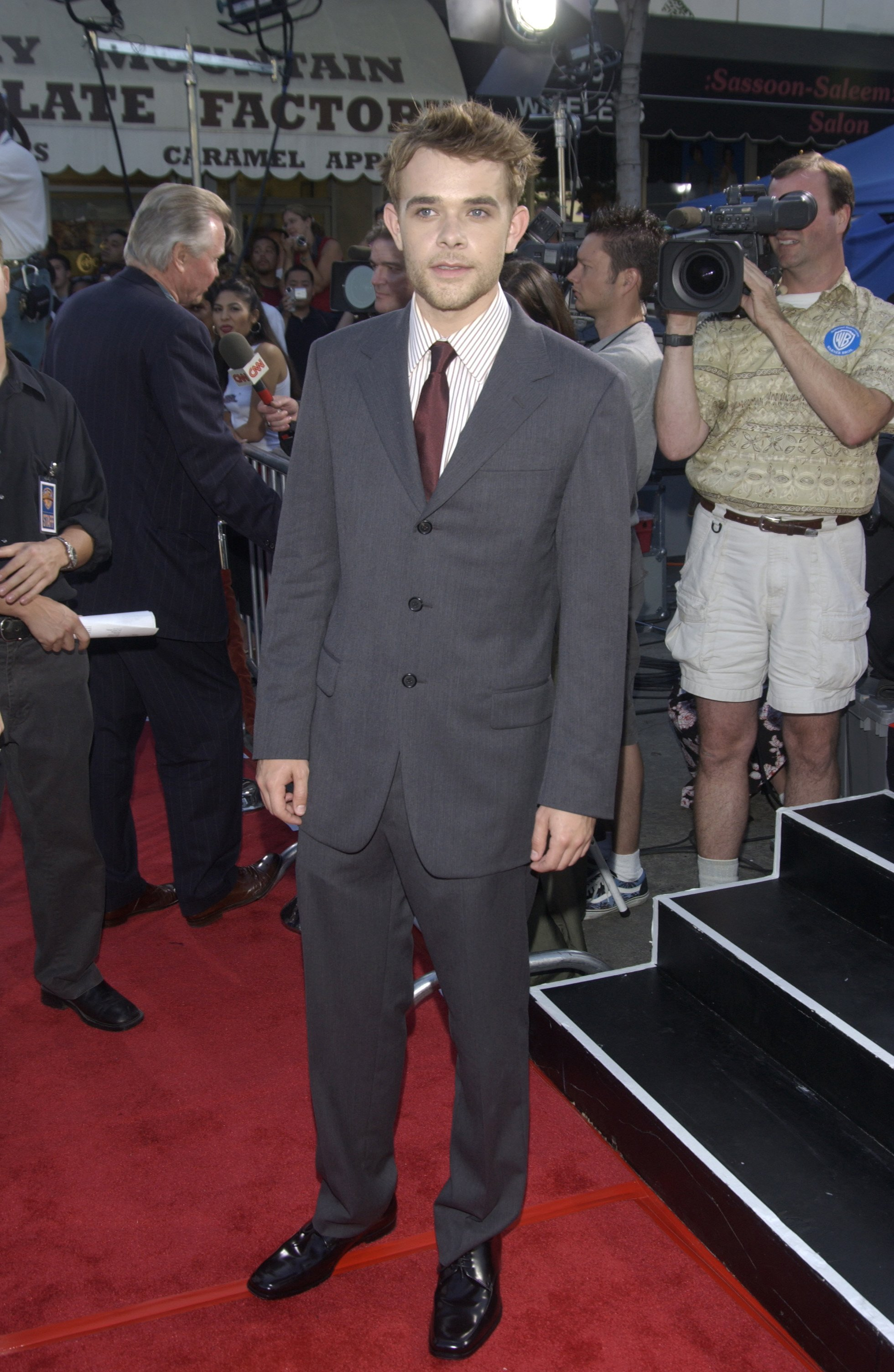 """Nick Stahl at the world premiere of """"Terminator 3: Rise of the Machines,"""" on June 30, 2003 in Los Angeles 