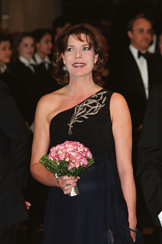 Princess Caroline at the Rose Ball in 1999 in Monaco | Source: Getty Images