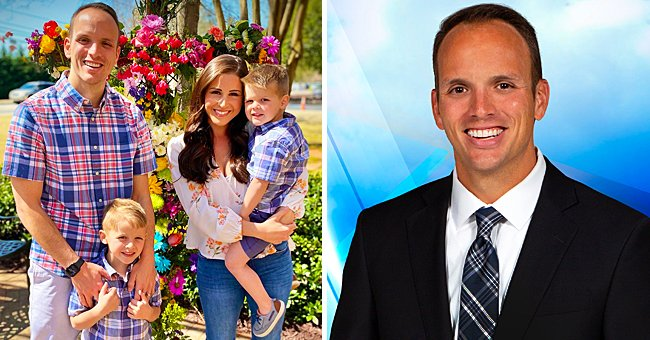 See WYFF 4 Chief Meteorologist Chris Justus' Cute Family Photo as His Wishes Fans Happy Easter