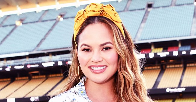 Chrissy Teigen's 1-Year-Old Son Miles Does Taste Test of One of Her Super Bowl Recipes (Video)