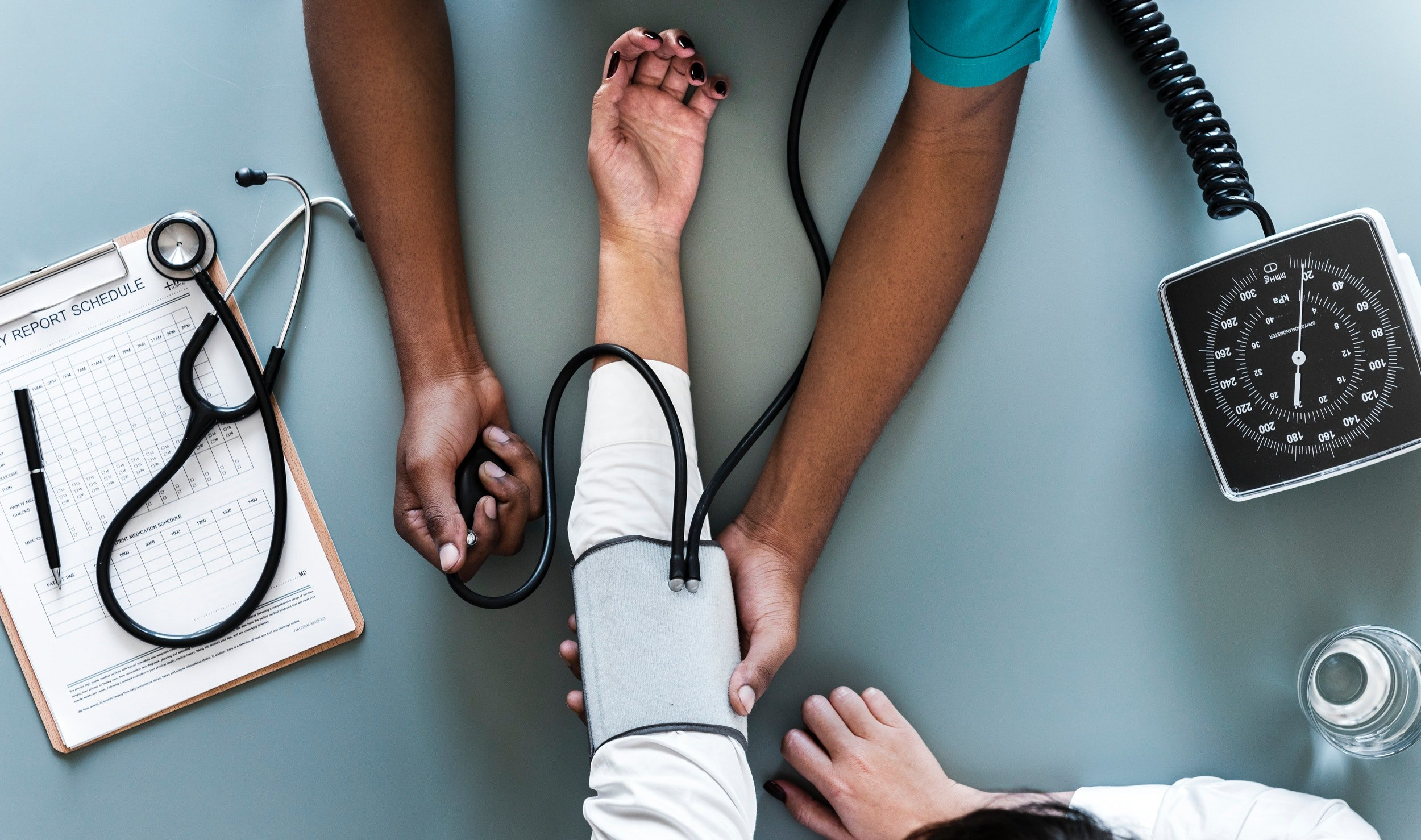 Health examination. | Source: Pexels