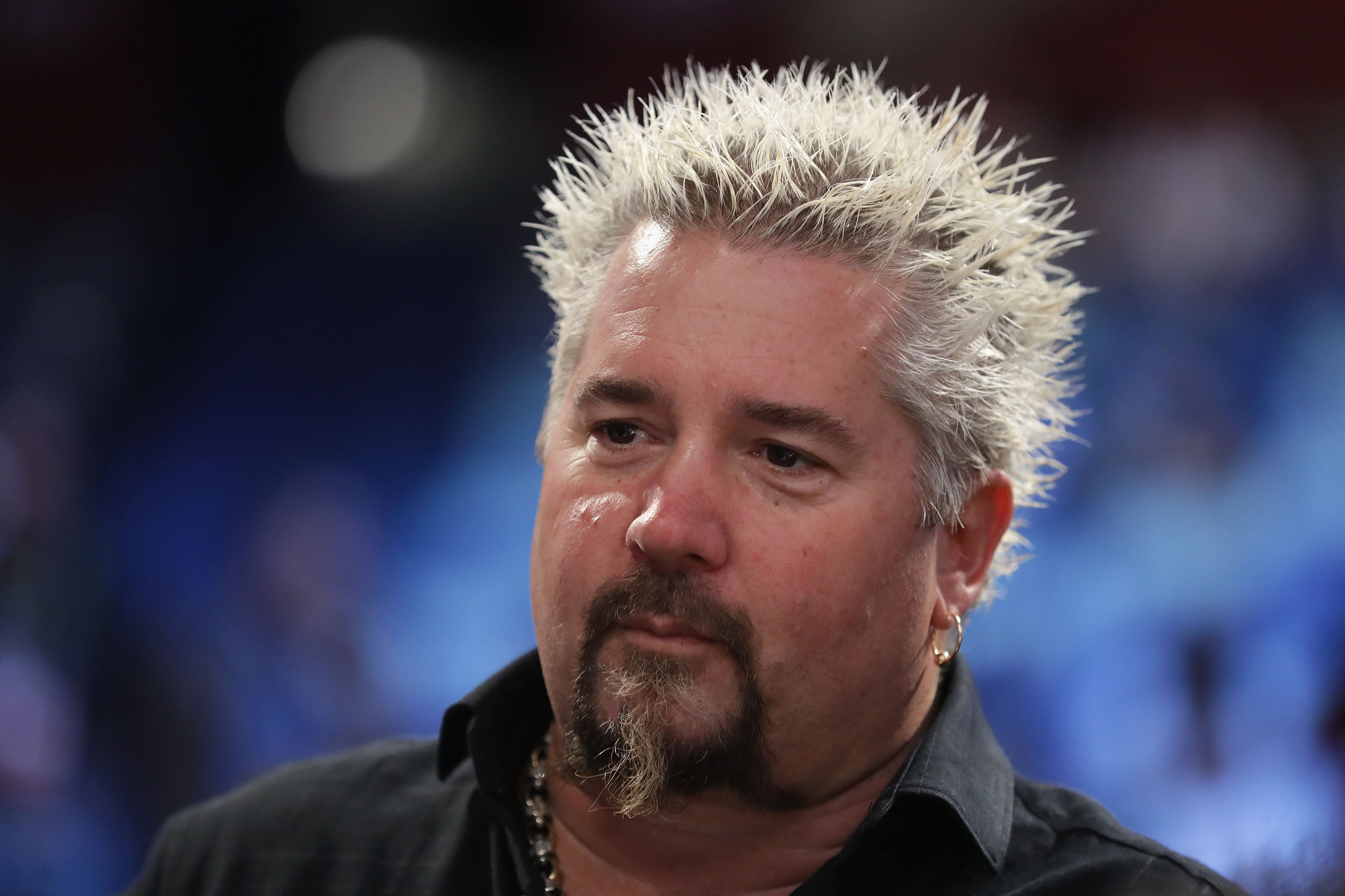 Guy Fieri attends the 2017 Taco Bell Skills Challenge at Smoothie King Center on February 18, 2017 in New Orleans, Louisiana. | Photo: Getty Images