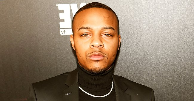 Bow Wow's Son Looks like a Ladies Man Surrounded by 3 Girls While Sitting in a Walker (Photo)