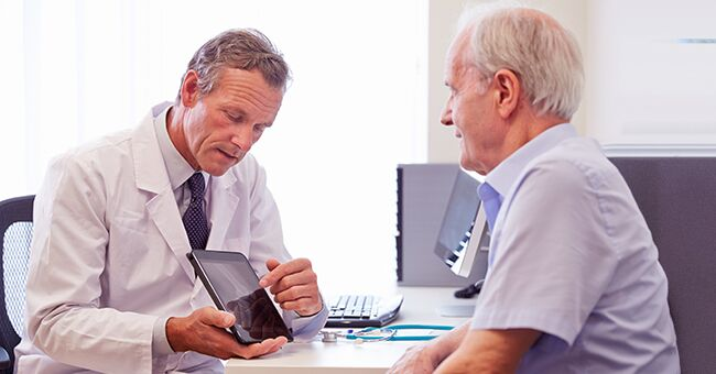 Daily Joke: Doctor Talks to His 60-Year-Old Patient during a Checkup
