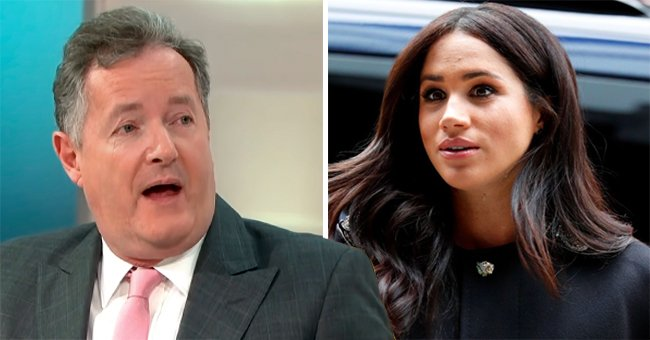 Pierce Morgan Reacts to His Article on Feud with Meghan Markle Becoming the Most Read News