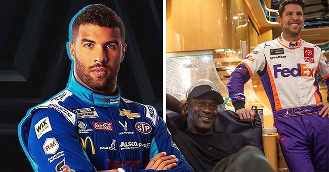 NASCAR Driver Denny Hamlin & Michael Jordan Partner to Start a Racing Team Led by Bubba Wallace