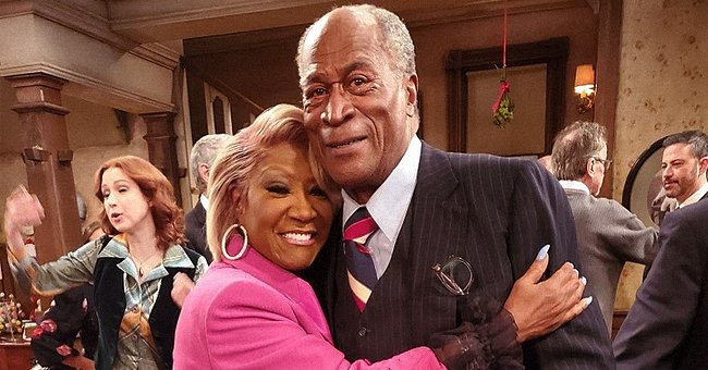 John Amos from 'Good Times' Looks Great at 79 as He Poses in a Pink Suit with Patti Labelle