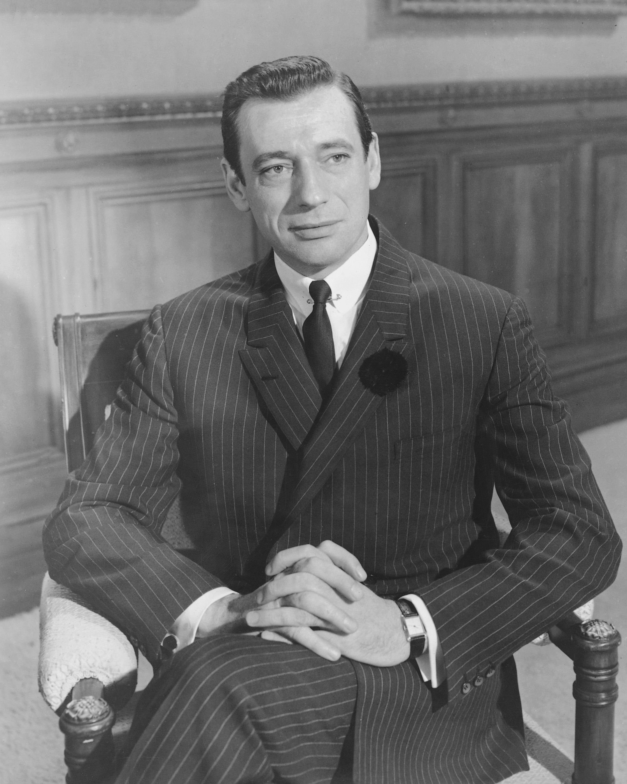 L'incontournable Yves Montand. l Source : Getty Images