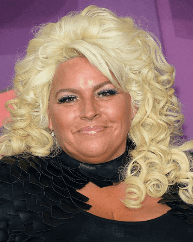 Beth Chapman poses on the red carpet at the 2014 CMT Music awards, on June 4, 2014 in Nashville, Tennessee | Source:Michael Loccisano/Getty Images