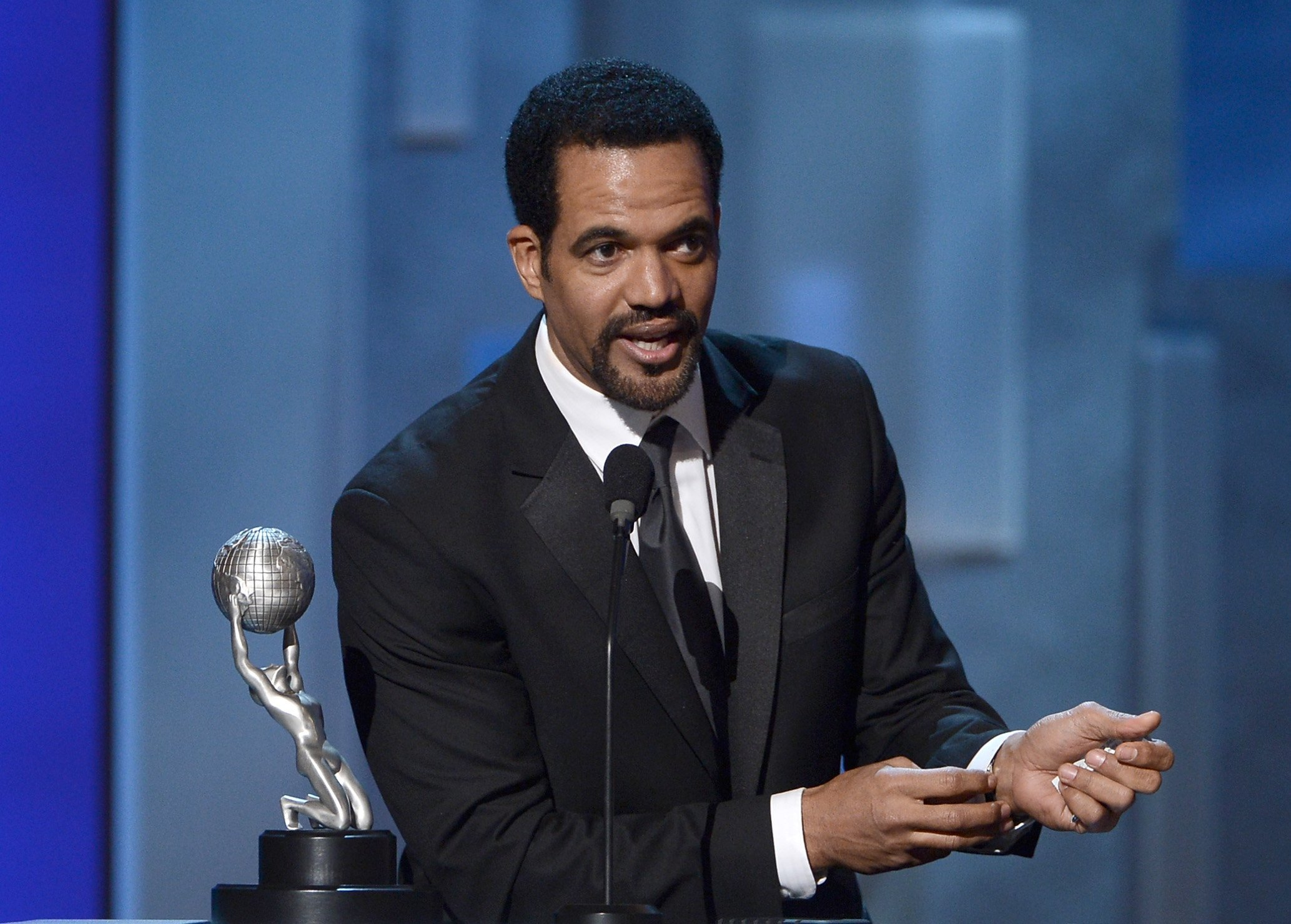 Kristoff St. John at the 44th NAACP Image Awards | Photo: Getty Images